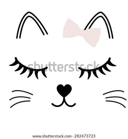 cartoon character graphic for t-shirt - stock photo