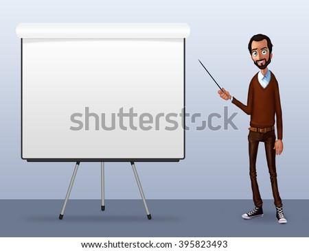 Cartoon man. Cartoon people. Cartoon character. Cartoon. Cartoon background. Cartoon characters. Cartoon face. Cartoon hands. Cartoon happy face. Man silhouette. Man face. Man standing. Character - stock photo