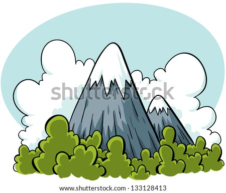 Mountain Cartoon Stock Photos Images Amp Pictures