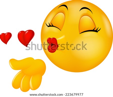 Kissing Girl Smiley-Face - Bing images
