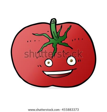Happy healthy person cartoon