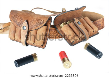 Cartridge set - stock photo