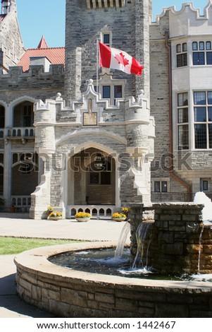 Casa Loma in Toronto, Ontario, Canada - stock photo
