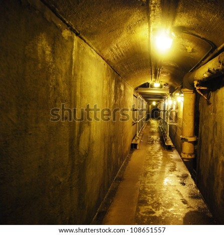 Casa Loma Tunnel in Toronto, Canada - stock photo