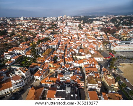 Cascais From Above, Portugal - stock photo