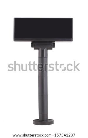 Cash desk panel - stock photo