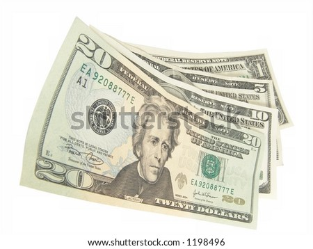 Cash Is King! - stock photo