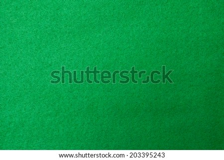 Casino green table background - stock photo