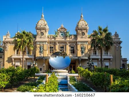 Casino Monte Carlo - stock photo