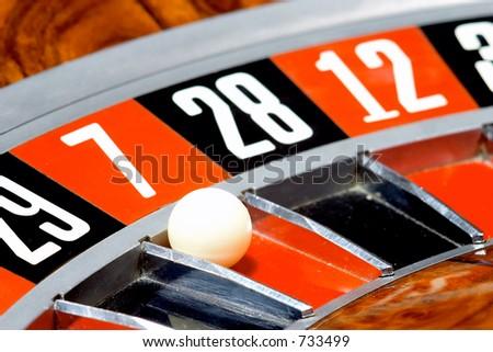 Casino, roulette #7 - stock photo