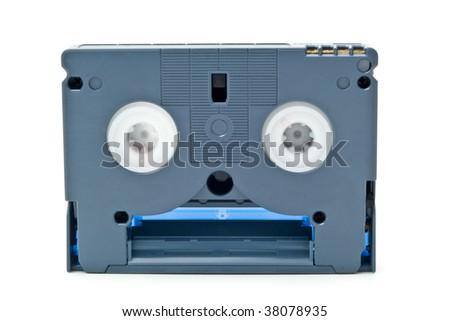cassette for video of survey - stock photo