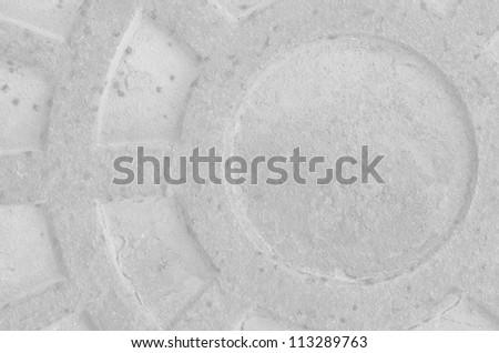 Cast Metal Grate Texture - stock photo
