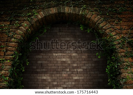 Castle gate is locked permanently. - stock photo