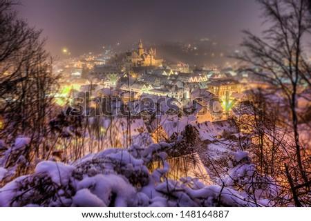 Castle Hohenzollern in Sigmaringen, Germany - stock photo