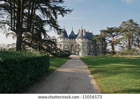 Castle in Chaumont sur Loire - stock photo