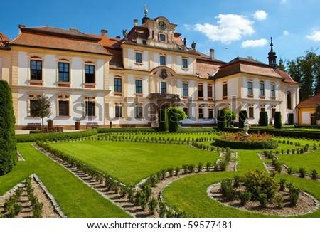 castle Jemniste, Bohemia - stock photo