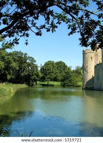 Castle Moat - stock photo