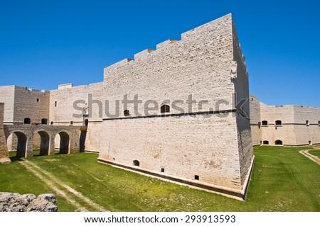 Castle of Barletta. Puglia. Italy.  - stock photo