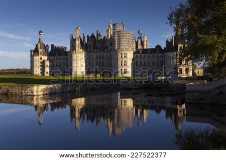 Castle of Chambord,  Loire et Cher, Centre region, France - stock photo