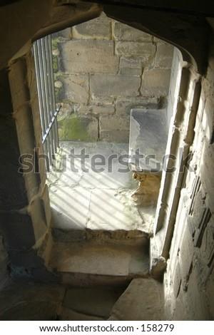 Castle Seat - stock photo