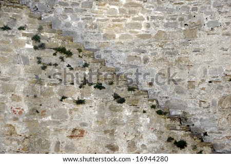 CASTLE STAIRS - stock photo