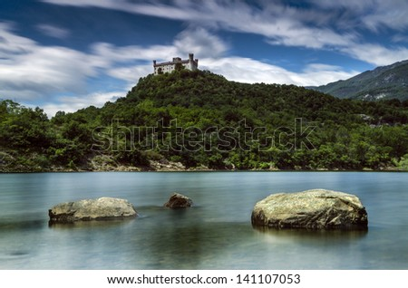castles in europe - stock photo