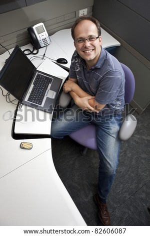 Casual Friday Informal Work Environment - stock photo