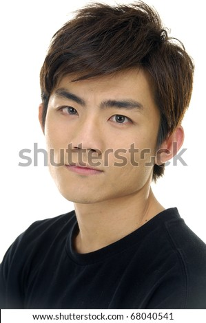 casual man portrait - stock photo