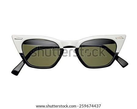 Cat eye sunglasses - stock photo