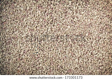 cat tray filler sand background - stock photo