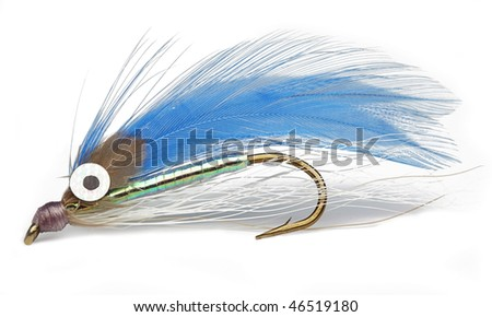 Catch the Fish with this fishing hook - stock photo
