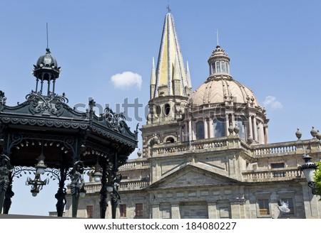 Catedral of Guadalajara, Jalisco, Mexico - stock photo