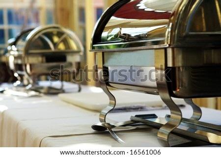 Catering supply - stock photo
