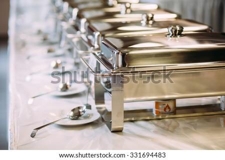 catering wedding  - stock photo