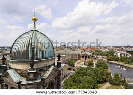 Cathedral in Berlin - Germany - stock photo
