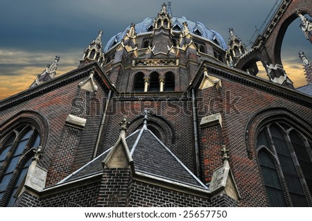 Cathedral in Vienna (Austria) - stock photo