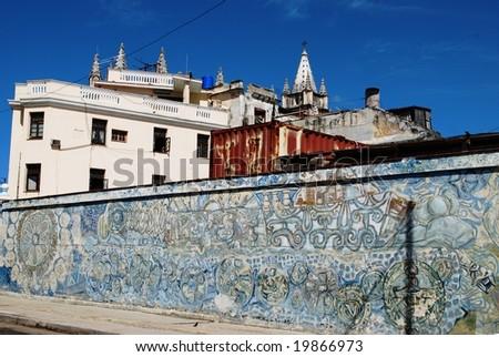 Cathedral of Havana - stock photo