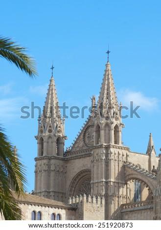 Cathedral of Palma de Mallorca, Spain - stock photo