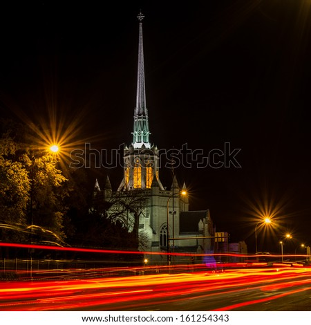 Cathedral of St. Paul - stock photo