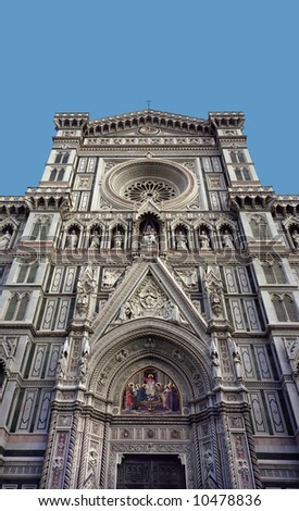 "Cathedral ""Santa Maria del Fiore"", Florence, Italy - stock photo"