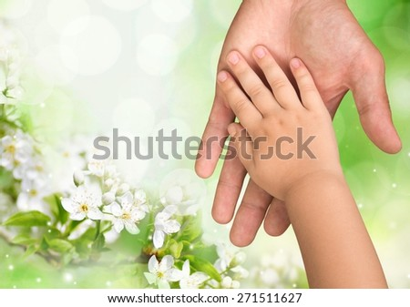 Caucasian. Giving a hand - stock photo