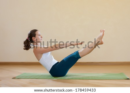 navasana stock photos images  pictures  shutterstock