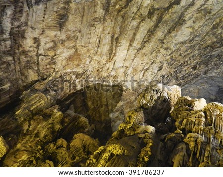Caverns Mexican Grottoes - stock photo