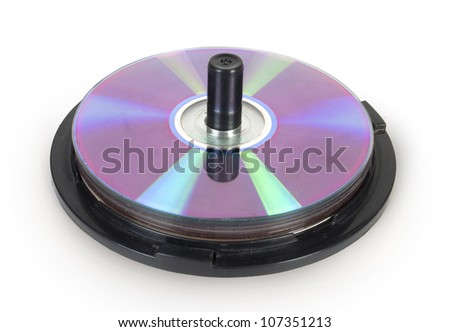 cd box - stock photo