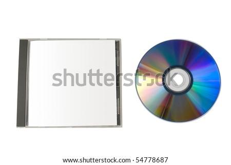 Cd box - stock photo
