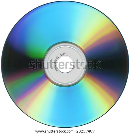 CD DVD storage support for audio music video data - stock photo