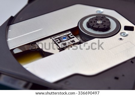 Cd or dvd tray   - stock photo