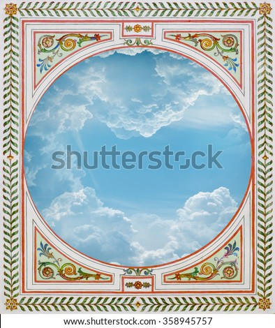 ceiling - stock photo