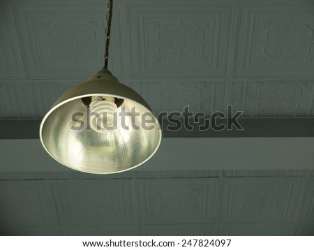 Ceiling Lamp  - stock photo