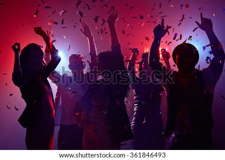 Celebrating New Year - stock photo